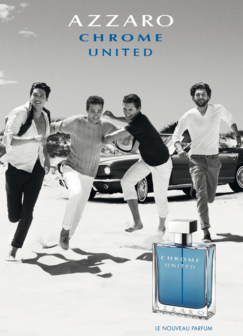 parfum chrome united